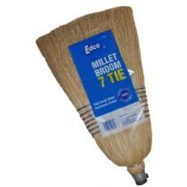 Millet Broom with Handle 7 Tie