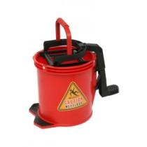 Nylon Wringer bucket -RED