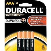 Batteries - DURACELL COPPER TOP - AAA Size