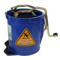 Metal Wringer Bucket -16L Red