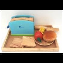 Pretend Play Kitchen Breakfast Set