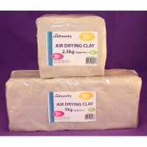Air Drying Clay - White 5kg