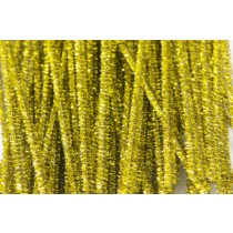 Tinsel Stems (Pipe Cleaners) Gold 300x6mm (Pk 100)
