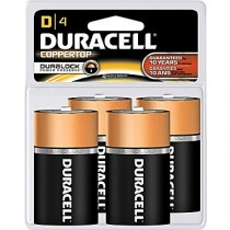 Batteries - DURACELL COPPER TOP - D Size