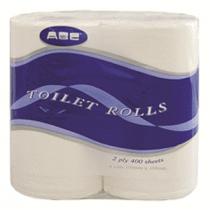 Deluxe Toilet Tissue 2 ply 400 sheet -Carton