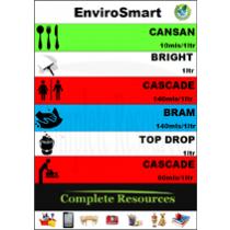EnviroSmart Dilution Colour Code Pack 10