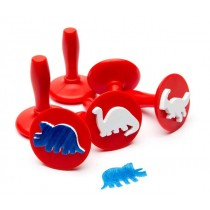 Dinosaurs - Paint and dough stampers (Set of 6)