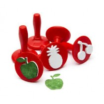 Fruit - Paint and dough stampers (Set of 6)