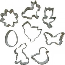Easter Cookie Cutters (Pk 10)