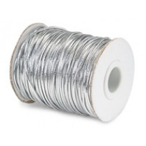 Face Mask Elastic Silver 2mm x 100 metres