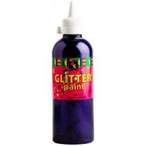 Glitter Paint 500ml (Purple)