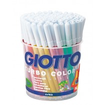 Giotto Turbo Color 96pc School Pack