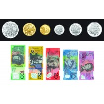 Magnetic Money Coins & Notes