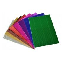 Metallic Corrugated Card A4 (20 Sheets)
