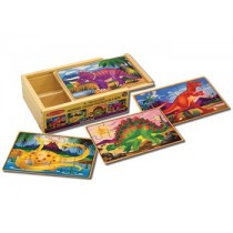 M&D - Dinosaurs Puzzles in a Box