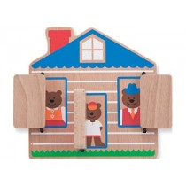 M&D - Peek-a-Boo House Puzzle