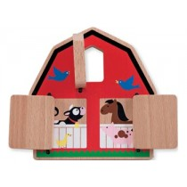 M&D - Peek-a-Boo Barn Puzzle