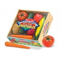 M&D - Play Time Vegetables 7 Pieces