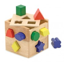 M&D - Shape Sorting Cube