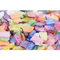Mosaic Plastic Small Glitter  (Pk 250GM)