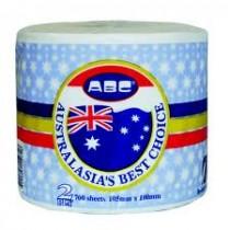 ABC 700 sheet Premium Toilet Tissue 2ply Carton 48 rolls