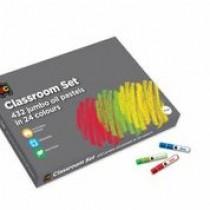 Jumbo Oil Pastels - Classroom Set (Box of 432)