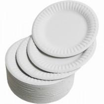 Paper Plates Large 23cm (Pk 50)