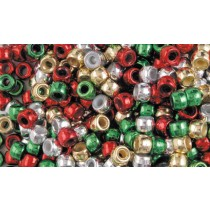 Christmas Beads (Pk 1000)