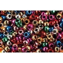 Metallic Mix Beads (Pk 1000)