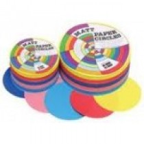 Brenex - Paper Circles (Assorted Colours)