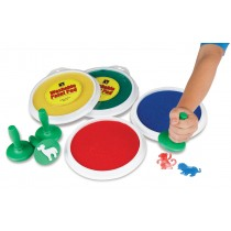 Shapes - Paint and dough stampers (Set of 8)