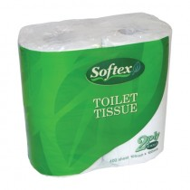 Softex Recycled Toilet Tissue 2ply 48Rolls/CTN
