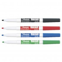 Whiteboard Marker - Sharpie Multi Fine Tip (Pk 4)