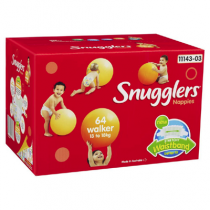 Snugglers Nappies Walker 13-18kg - 64 Pack