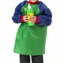 Toddler Smock - Apron Green/Blue