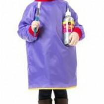 Toddler Smock - Apron Purple