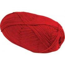 Yarn Acrylic 4 Ply RED 100 GM - Single Buy